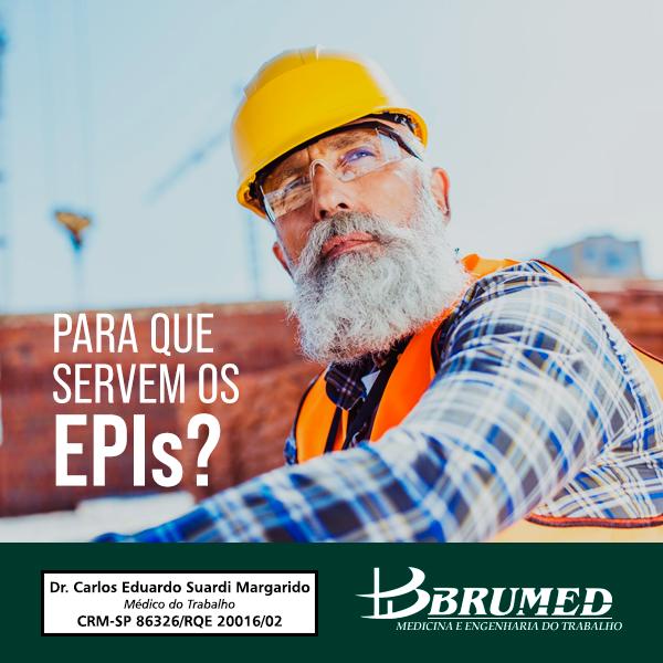 Para que servem os EPIs | Brumed