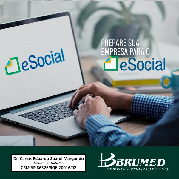 Prepata sua empresa para o e social | Brumed