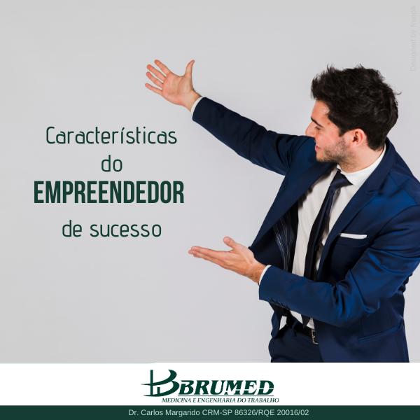Características do empreendedor de secesso | Brumed