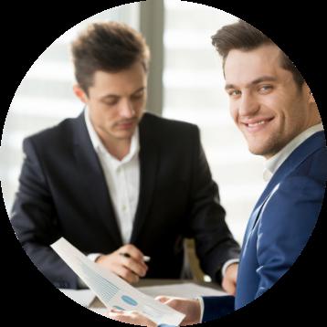 Executivos fazendo negócios | Brumed